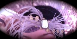 Headdress by Vooss Atelier