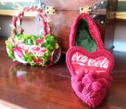 Coca Cola Shoes and Bag by Vooss Atelier