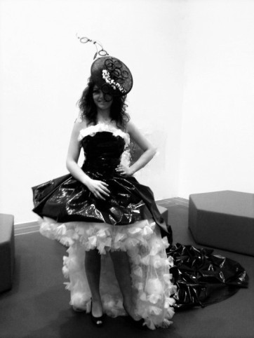 Unusual Dresses. Recycled