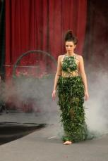Unusual Dresses. Grass