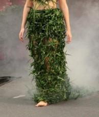 Unusual Dresses. Grass
