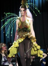 Unusual Dresses. Forest
