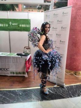 Vestido de pasarela diseñado por Vooss Atelier.