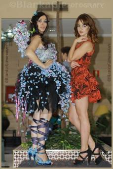 Shoes and Flowers Fantasy Dress by Vooss Atelier
