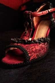 AFTER. Awesome Red Tango Shoes