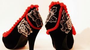 Vooss Atelier: Black Velvet. Shoes by Vooss Atelier