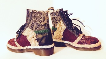 Vooss Atelier: Boots of Alice. Shoes by Vooss Atelier
