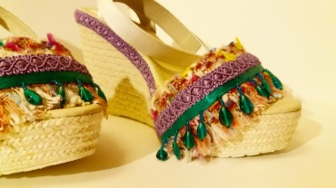 Vooss Atelier. Colourful Sun. Shoes by Vooss Atelier