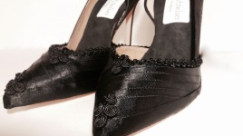 Vooss Atelier. One in a Kind Black. Shoes by Vooss Atelier