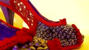 Vooss Atelier: Purple Explosion. Shoes by Vooss Atelier