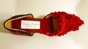 Vooss Atelier. Red Queen. Shoes by Vooss Atelier