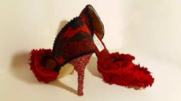 Vooss Atelier. Red Queen. Shoes by Vooss Atelier