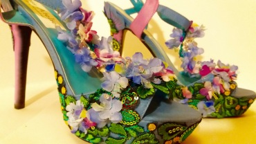 Vooss Atelier: Turquoise Paradise. Shoes by Vooss Atelier